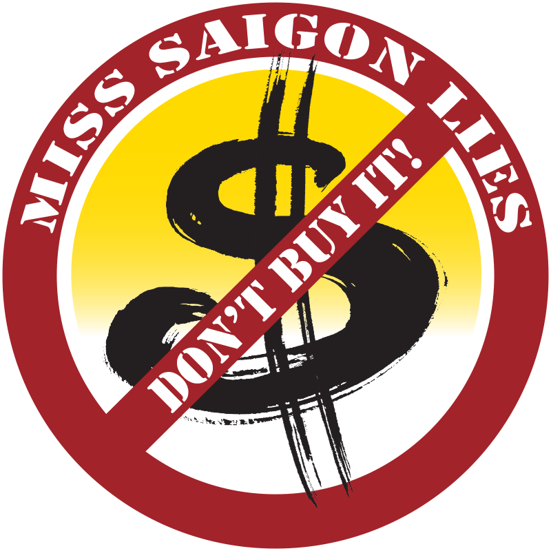 Miss Saigon Lies logo